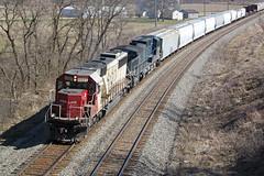 No foolin' - SOO 6027 is a rare catch! (AndyWS formerly_WisconsinSkies) Tags: train railroad railway railfan canadianpacificrailway canadianpacific cprail cp sooline soo soolinesd60 emd sd60 emdsd60 locomotive