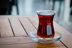 Turkish Tea by the Bosphorous (boodahjoomusic) Tags: turkey tea istanbul bosphorous