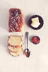 painbrioche0961 (la cerise sur le gâteau) Tags: food cooking breakfast bread baking pain patisserie pastry brunch jam brioche