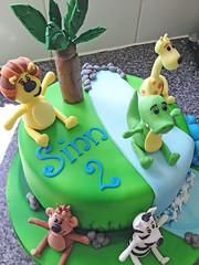 RaaRaa The Noisy Lion Cake