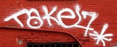 Graffiti In Lower Manhattan.Take 7. (Allan Ludwig) Tags: graffiti lowermanhattan take7