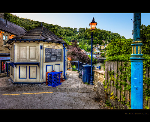 An evening in Matlock Bath