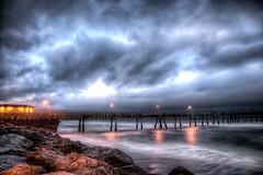Millipede (eCHstigma) Tags: ocean california longexposure seascape beach architecture zeiss landscape coast pier nikon rocks waves pacifica hdr distagon d600 zf2 25mmf2 distagont225