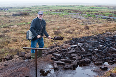 Cutting Peat (Styggiti) Tags: uk travel vacation june scotland europe peat islay whisky bog distillery laphroaig 2013
