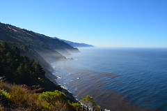 Big Sur coastline in the morning (mmsmithgall) Tags: ocean california nikon pacific bigsur roadtrip pch highway1 pacificcoasthighway d7000