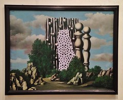 The Annunciation (ArtFan70) Tags: uk greatbritain england london art painting europe artgallery unitedkingdom tate britain dream magritte tatemodern dreaming artmuseum annunciation southwark bankside renemagritte gbr bilboquet renmagritte theannunciation bilboquets