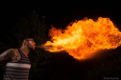 IMG_6518 (larslarsen77) Tags: longexposure night hoop dark studio fire roots location flame staff return spinning poi spinner magicforest photon r2r strobes fireperformer larslarsen