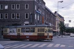 JHM-1977-1215 - Norvège, Trondheim, tramway (jhm0284) Tags: norvège norvege