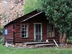 Rustic Pitkin, Colorado #9 (jimsawthat) Tags: mountains architecture colorado logcabin residence smalltown logbuildings pitkin