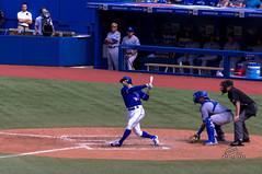 Another Strike (_Matt_T_) Tags: toronto baseball swing skydome bluejays strike rogersstadium kevinpillar