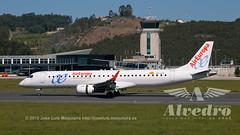 Air Europa EC-LLR Embraer 195 Coruña Alvedro