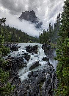 In The Absence of Color - Athabasca Falls
