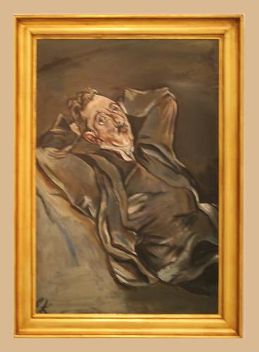Oskar Kokoschka 1886 1980 Portrait Of The Poet Albert
