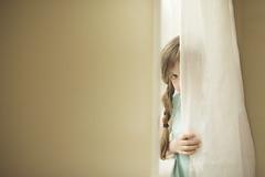 39 (kerry_varnum) Tags: girl peekaboo curtain hiding sheer
