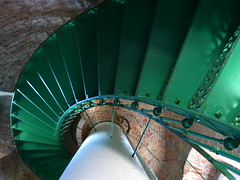 P1040050 (aishe's photography) Tags: park light sea sun lighthouse green water stairs licht meer wasser baltic treppe national grn sonne ostsee parc leuchtturm watchtower ort zingst naturschutzgebiet fischland bodden dars 2013 darser