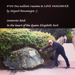 | no.104 | | Centuries Rock | (onemillionreasonstolovevancouver) Tags: cool instagood instaphoto instafollow onemillion l4l world vancouverrealestate realestate tourism vancouvertourism promotion thegreatervancouverarea metrovancouver vancouvercity cityofvancouver vancity vancouver city vancouverite people miguelboccanegra profile downtownvancouver awesomevancouver vanone home today centuriesrock queenelizabethpark cambie flickriosapp:filter=nofilter uploaded:by=flickrmobile
