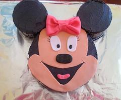 Minnie Mouse cake by Crystal, RCU, NC, www.birthdaycakes4free.com