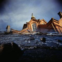 Harmagedon (Foide) Tags: holga disaster devastation catastrophe splizer