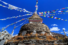 Stupa @ Mong La, Sagarmatha National Park, Nepal (Feng Wei Photography) Tags: travel nepal mountain snow color tourism expedition beautiful beauty horizontal trekking trek season landscape scenery colorful asia view outdoor hiking scenic peak hike unesco stunning vista remote himalaya majestic khumbu everest himalayas breathtaking rugged sagarmatha solukhumbu mongla