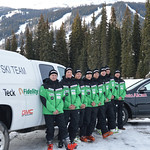 13/14 BC Ski Team Men (left to right) Dominic Unterberger, Broderick Thompson, Patrick Carry, Brodie Seger, Martin Grasic, Blake Ramsden, Johnny Crichton, Nick Cooper PHOTO CREDIT: Gordie Bowles
