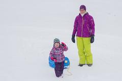 Sled Riding 2013-9 (TheDarrenSharp) Tags: winter evelyn bern 3yearsold sledriding