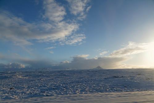 Road back to Reykjavik
