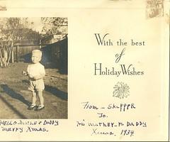 SKIP CHRISTMAS 1934 (ussiwojima) Tags: christmas skip 1935