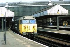 82 062 220482 50033 Waterloo (The KDH archive) Tags: 1982 railway waterloo 50033 d433