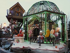 Chocolate Factory Garden (joeng) Tags: park plants snow building tree japan garden landscape sapporo hokkaido factory places olympus omd chocolatefactory em1