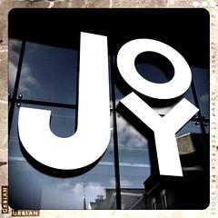 Find Joy In The Ordinary (k8rry) Tags: reflection window shop rooftops joy leeds storefront retrocamera retrocameraandroidthebaerbl
