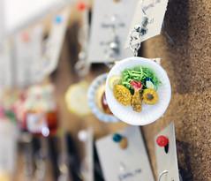 Tiny Tempura Plate (Design Festa) Tags: original food cute art beautiful japan japanese design amazing artwork handmade traditional small adorable fake tiny harajuku accessories earrings tempura fakefood