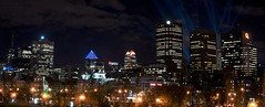 Montral la nuit (Surrealplaces) Tags: canada skyline night montral quebec montreal nuit vision:outdoor=0926 vision:sky=0885