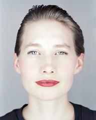Amrei (simon oh) Tags: portrait girl closeup mediumformat lipstick 6x7 mamiyarz67 nph400pro