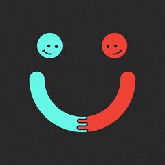 You Make Me Happy (2014) (haasbroek) Tags: cute art love smile happy design graphicdesign minimalism simple vector jacohaasbroek