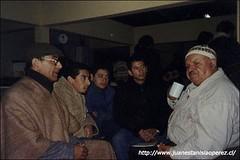 Con Santos Rubio, reconocido cultor del canto a lo humano y lo divino.