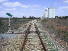 Eyre Peninsular Narrow Gauge Railway Buckleboo End of Line South Australia (bishi3) Tags: railway australia outback kimba southaustralia grainsilo railwaytracks disusedrailway narrowgaugerailway tradie eyrepeninsula buckleboo bishi3