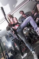 Blackslash #13 (Michael-Herrmann) Tags: camera music electric metal fog drums concert nikon nebel bass guitar stage flash laut amp off ii sound mic konzert heavy blitz amplifier loud gitarre blitzen altes bhne titisee offcamera schulhaus entfesselt d7100 blackslash yongnuo yn560