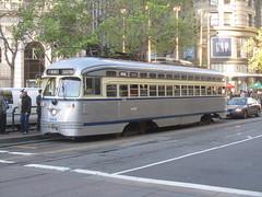 Streetcar Philadelphia Rapid Transit Company - 1947 (MR38) Tags: electric vintage san francisco trolley tram rails restored streetcar fline