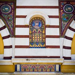 Facade of the Bathes of Sofia (farflungistan) Tags: architecture sofia bulgaria publicbath turkishbath mineralbath viennasecession     thesofiapublicmineralbaths