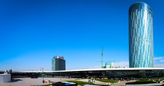 Sky Tower #Panorama (iCrusher) Tags: sky panorama tower vertical mall romania bucharest promenada