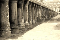 Sepia Column (rudolphfelix) Tags: travel stone sepia architecture asia asien cambodia kambodscha south east backpacking angkor wat ost tempel sd