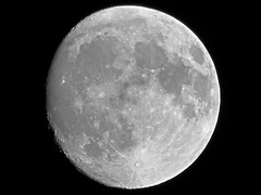 Waxing Gibbous Moon - April 12, 2014 (spacemike) Tags: sky moon mare charlotte space northcarolina luna craters crater astrophotography astronomy nightsky charlottenc lunar waxingmoon gibbousmoon charlottenorthcarolina astromike waxinggibbousmoon spacemike