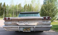 1960 Pontiac Bonneville tail (crusaderstgeorge) Tags: cars pontiac classiccars bonneville tlc americancars pontiacbonneville americanclassiccars