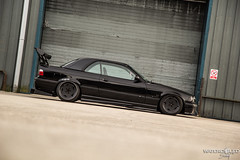 Dan's BMW Collection - E46 Saloon & E36 Convertible (MDB Images) Tags: oz air low wide wip german bm bmw static bbs beemer spoiler stance camber e46 bgw airlift splitter e36 watercooled wcs fitment mdbimages watercooledsociety germanwip