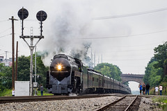 N&W 611: Roanoke (Peyton Gupton) Tags: railroad train virginia nw norfolk rail railway trains steam roanoke va western rails steamy steamengine blueridge cpl norfolkandwestern norfolksouthern steamlocomotive christiansburg railraod trians nw611 norfolkandwestern611