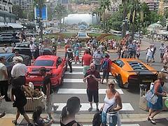Monte Carlo Casino Square (Harry3099) Tags: cars sports mercedes martin lotus super ferrari monaco porsche audi lamborghini sunbeam bentley maserati aston sportscar tvr sportscars supercars jagar