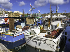 Mgarr fishermans boot rack (Tony Tomlin) Tags: mgarr malta gozo boats yachts fishingboats fishingharbour