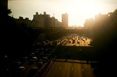 Analog Sunset in São Paulo (danielmendesortolani) Tags: analogic analog analogue film pelicule travel world sunset são paulo sao brasil bresil brazil composition street city fine art fineart destination