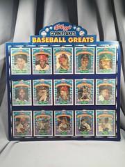 Kellogg's Corn Flakes Baseball Greats (toyfun4u) Tags: kelloggs cereal