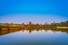 Look to the East (technodude67) Tags: angkor architecture asia asiatrip buddhism culture discoverasia landscape longexposure monument parco park reflection scenery sunset temple tourism travel trip turismo viaggiare viaggio water cambodia
